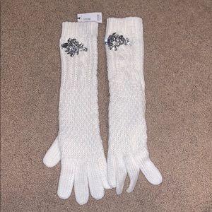 Opera Length White Gloves